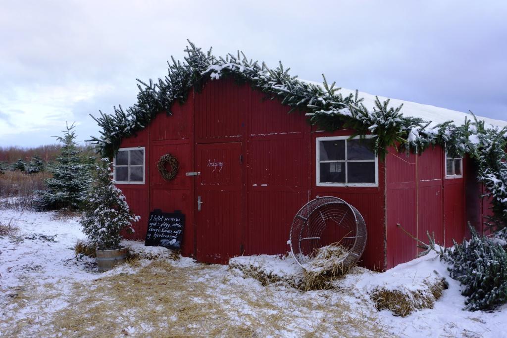 julearrangement Det Røde Træhus Rosendal